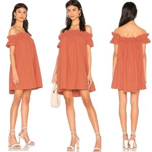 Free People Sophie Off The Shoulder Minidress XS